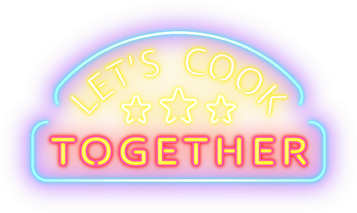 Let's Cook Together logo - transparent background