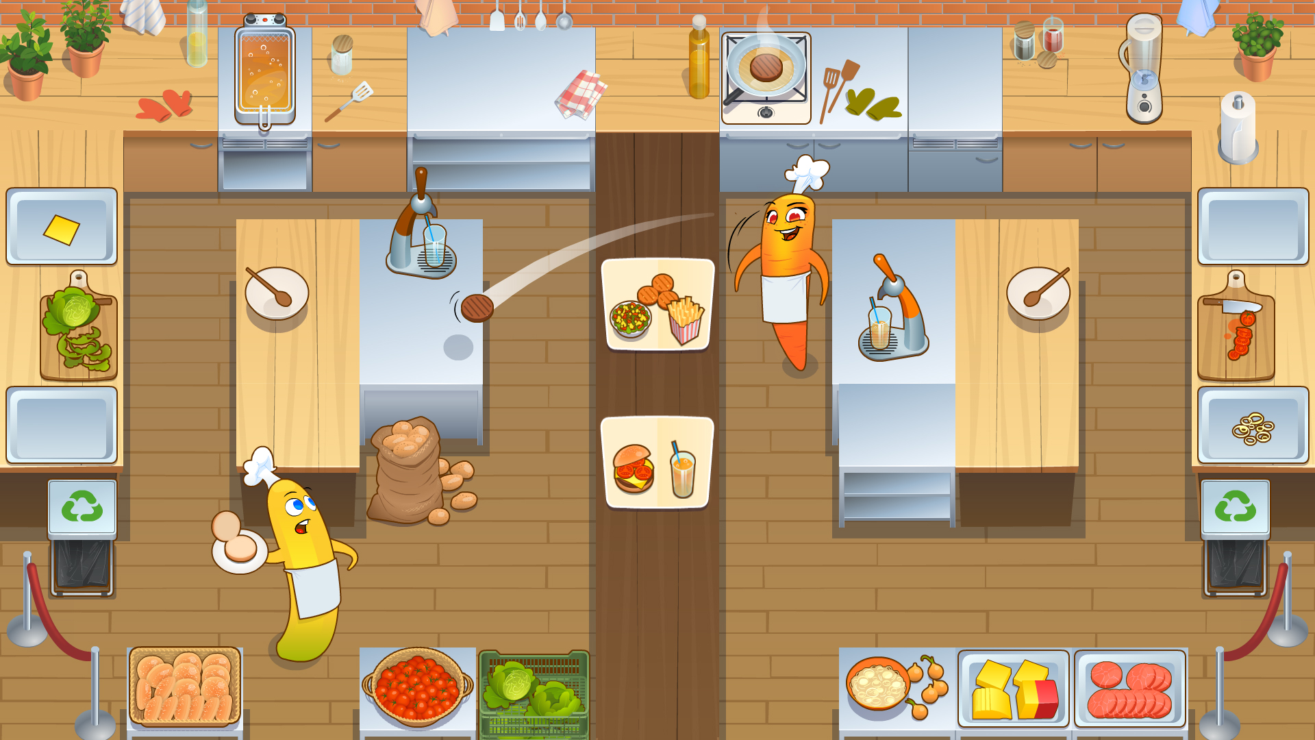 Let's Cook Together gameplay screenshot 1